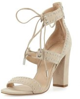 KENDALL + KYLIE Dawn Studded Strappy Sandal, Light Natural