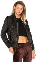 Alpha Industries MA-1 Diamond W Bomber in Black. - size L (also in M,S,XS)