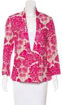 Rachel Comey Printed Silk Blazer