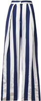Aspesi striped high-rise palazzo pants