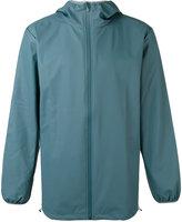 Rains hooded zip up jacket - men - Polyester/Polyurethane - XL