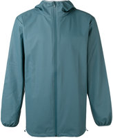 Rains hooded zip up jacket - men - Polyurethane/Polyester - S