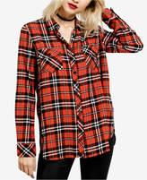 Volcom Juniors' Cotton Plaid Shirt