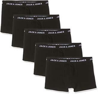 Jack and Jones NOS Men's Jachuey Trunks 5 Pack Noos Boxer Shorts,XX-Large