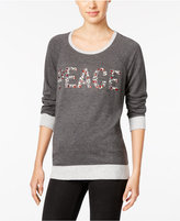 Style&Co. Style & Co. Peace Graphic Sweatshirt, Only at Macy's