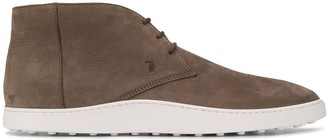 Tod's Lace-Up Sneaker Boots