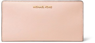MICHAEL Michael Kors Large Crossgrain Leather Slim Wallet