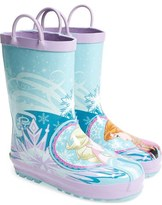 Western Chief 'Frozen ® Pretty Princesses' Rain Boots (Walker, Toddler, Little Kid & Big Kid)