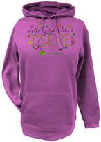 John Deere Fuchsia 'Nothing Runs Like a Deere' Hoodie
