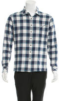 Baja East Checkered Long Sleeve Shirt w/ Tags