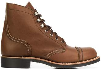 Red Wing Shoes lace up ankle boots