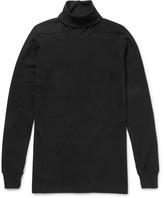 Rick Owens - Slim-fit Cotton-jersey Rollneck Sweatshirt
