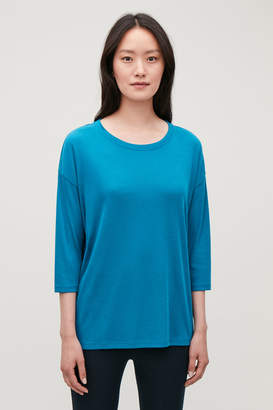 Cos RELAXED -SLEEVED TOP