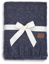 UGG Luxe Mohair Throw - Blue Jay