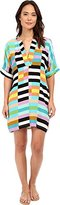 Mara Hoffman Women's Flag Stripe Rainbow Dress