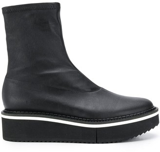 Clergerie Berta flatform boots