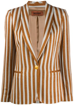 Missoni Jacquard Striped Blazer