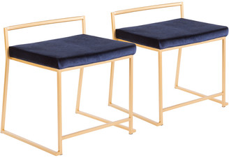Lumisource Set Of 2 Fuji Dining Chairs