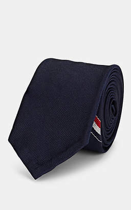 Thom Browne Men's Duck-Motif Silk Necktie - Navy