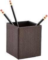 Container Store Parker Pencil Cup Espresso