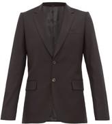 Paul Smith - Soho Fit Virgin Wool Crepe Suit Jacket - Mens - Black