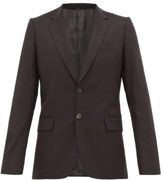Paul Smith Soho-fit Virgin-wool Crepe Suit Jacket - Mens - Black