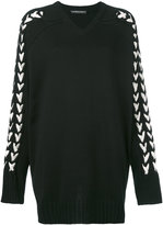 Y/Project Y / Project braided sleeve jumper