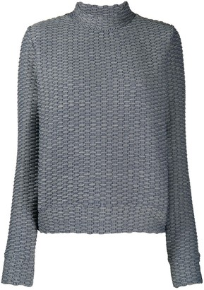 The Upside Inverto mock neck jumper