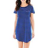 Liz Claiborne Short-Sleeve Nightshirt
