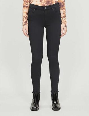 AllSaints Miller mid-rise stretch-denim jeans