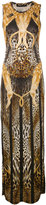 Philipp Plein Hya maxi dress - women - Silk/Modal - XS
