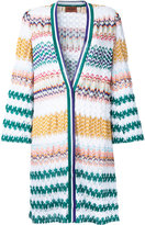Missoni zig-zag pattern open cardigan - women - Cotton/Viscose - 40