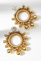 Venessa Arizaga Gilded Globe Hoop Earrings