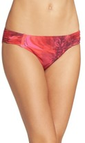 Tommy Bahama Women's Poppy Red Bikini Bottoms