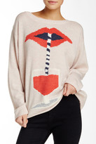 Wildfox Couture Suck It Up Long Sleeve Pullover