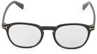 Tom Ford 50MM Cat Eye Blue Block Optical Glasses
