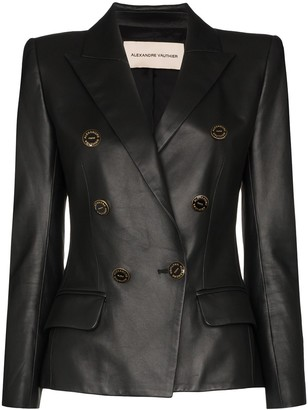 Alexandre Vauthier Double-Breasted Fitted Blazer