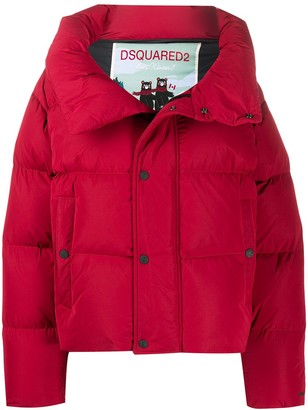 DSQUARED2 Oversized Quilted-Down Coat