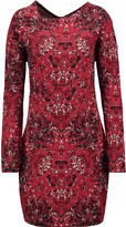 M Missoni Jacquard-knit cotton-blend dress