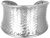 Satya Jewelry Large Basketweave Cuff