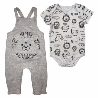 Fisher-Price Baby Boy's 2pc Overall Set Pants