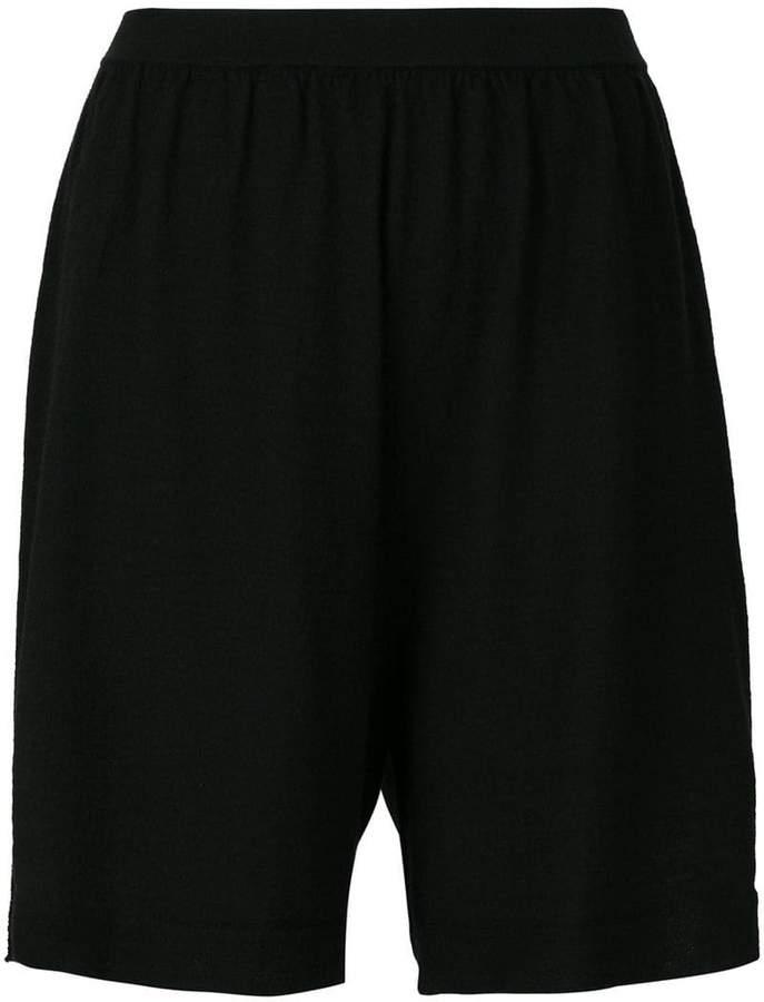 Rick Owens loose fit shorts