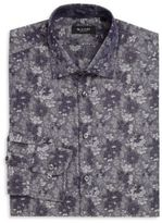 Sand Regular-Fit Floral Paisley Dress Shirt