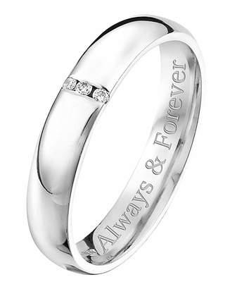 Marisota Personalised 9 Carat Gold Ladies Ring