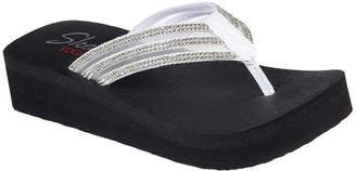 Skechers Womens Vinyasa - Sugar Pie Flip-Flops