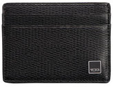 Tumi Monaco Slim Card Case with ID Lock Technology, Black