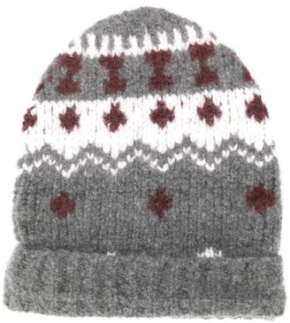 Eleventy Embroidered Beanie