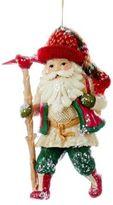 Kurt Adler North Land Santa Ornament