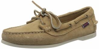 Sebago Women's Jacqueline Suede W 7002TA0 Boat Shoes (Beige Camel 906) 5 UK