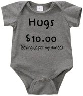 VRW Hugs $10 saving up for my Honda - unisex Onesie Romper Bodysuit (24months, )